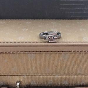 Michael Kors Buckle Stainless Steel Ring